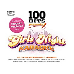 CD - Various Artists - 100 Hits - Girl's Night Karaoke