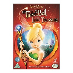 DVD - Tinker Bell And The Lost Treasure