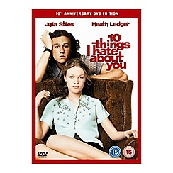DVD - 10 Things I Hate About You DVD