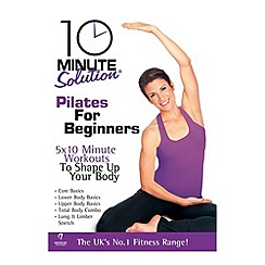 DVD - 10 Minute Solution - Pilates For Beginners