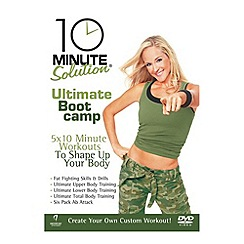 DVD - 10 Minute Solution   Ultimate Boot Camp DVD