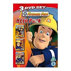DVD - Fireman Sam - The New Hero Next Door / Red Alert / Sticky Situation