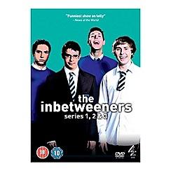 DVD - Inbetweeners - Series 1-3