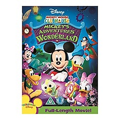 DVD - Mickey Mouse Clubhouse: Mickey's Adventures in Wonderland