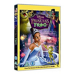 DVD - Disney Princess And The Frog DVD