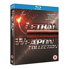 Blu-Ray - Lethal Weapon 1-4