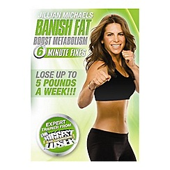 DVD - Jillian Michaels: Banish Fat, Boost Metabolism