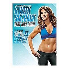 DVD - Jillian Michaels: 6 Week Six-Pack