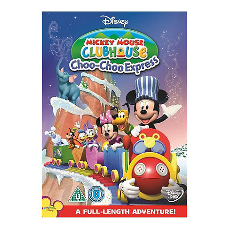 DVD - Mickey Mouse Club House: Mickey+s Choo Choo