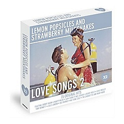 CD - Various Artists - Lemon Popsicles And Strawberry Milkshakes - Love Songs 2