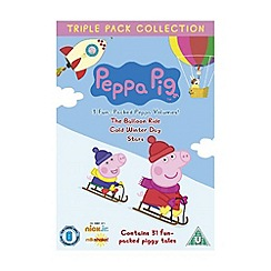 DVD - Peppa Pig Triple (Balloon Ride, Cold Winter Day and Stars)