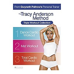DVD - Tracy Anderson Method: Triple Workout Collection