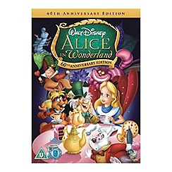 DVD - Disney Alice In Wonderland (Animated) DVD