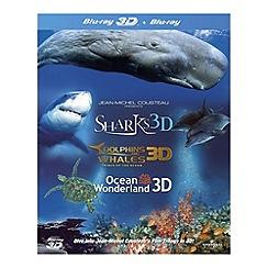 Blu-Ray - Jean-Michel Cousteau's Film Trilogy In 3D