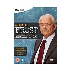 DVD - Touch Of Frost   Complete 1 15 DVD