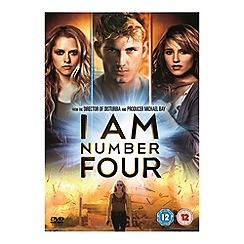 DVD - I Am Number Four