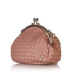 Yumi - Pink mini clasp bag