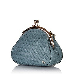 Yumi - Blue mini clasp bag