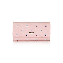 Yumi - Mid rose cat and bead purse