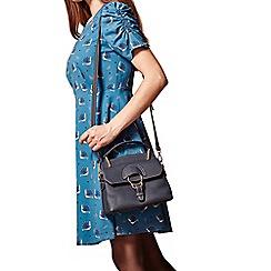 Yumi - Blue 60s retro bag