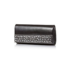 Yumi - Black sparkling embellished party bag