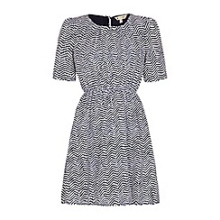 Yumi - Zig zag day dress