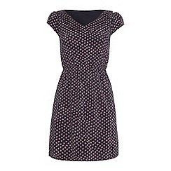Iska - Disty print collar dress