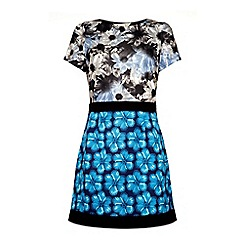 Yumi - Mix 'n' match print dress