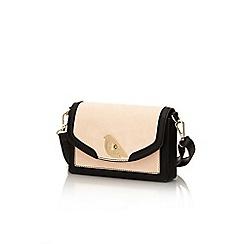 Yumi - Pink bird lock handbag