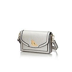 Yumi - Silver bird lock handbag