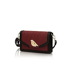 Yumi - Red bird lock handbag