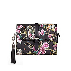 Yumi - Multicoloured  Woodland Shoulder Bag With Tassel