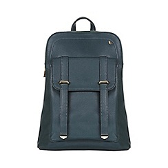 Yumi - Green Leather Look Backpack