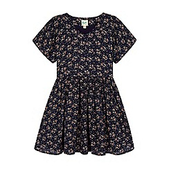 Yumi Girl - Blue Floral Ditsy Dress