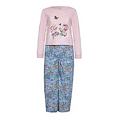 Yumi Girl - Blue Garden PJ Set