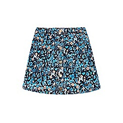 Yumi Girl - Multicoloured  Butterfly Printed Skirt