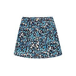 Yumi Girl - Multicoloured  Butterfly Printed Skirt