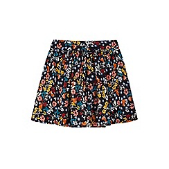 Yumi Girl - multicoloured  Rabbit & Robin Printed Skirt