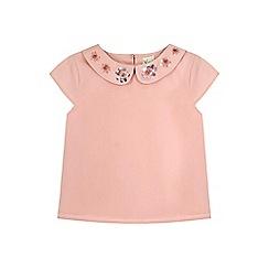 Yumi Girl - pink Sequin Flower Top