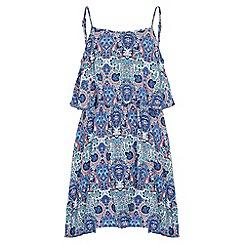 Yumi Girl - multicoloured Paisley Swirl Dress