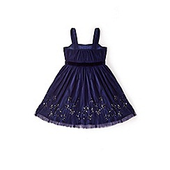 Yumi Girl - Blue sparkle star prom dress