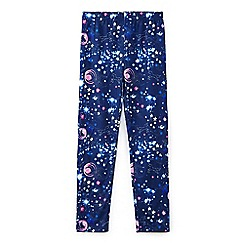 Yumi Girl - Blue universe galaxy print leggings