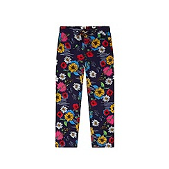 Yumi Girl - Multicoloured  Floral Print Trousers