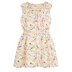 Yumi Girl - Multicoloured  Confetti Floral Print Day Dress