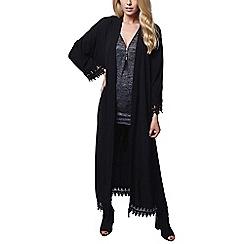 Mela London - Black lace trim kimono