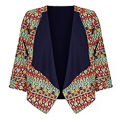Iska - Multicoloured aztec print kimono jacket