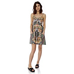 Iska - Multicoloured aztec print day dress
