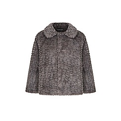 Iska - Grey faux fur jacket