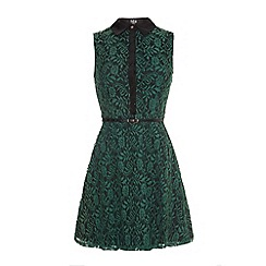 Iska - Lace collared dress