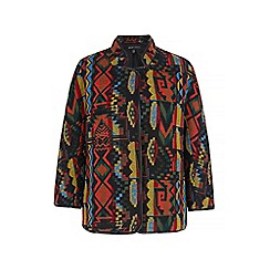 Iska - Multicoloured aztec print jacket